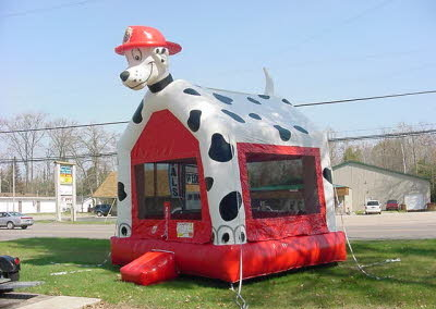 Dalmation Bounce House
